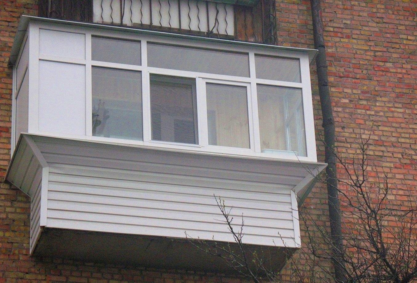 Застеклить балкон на последнем этаже в брянске.