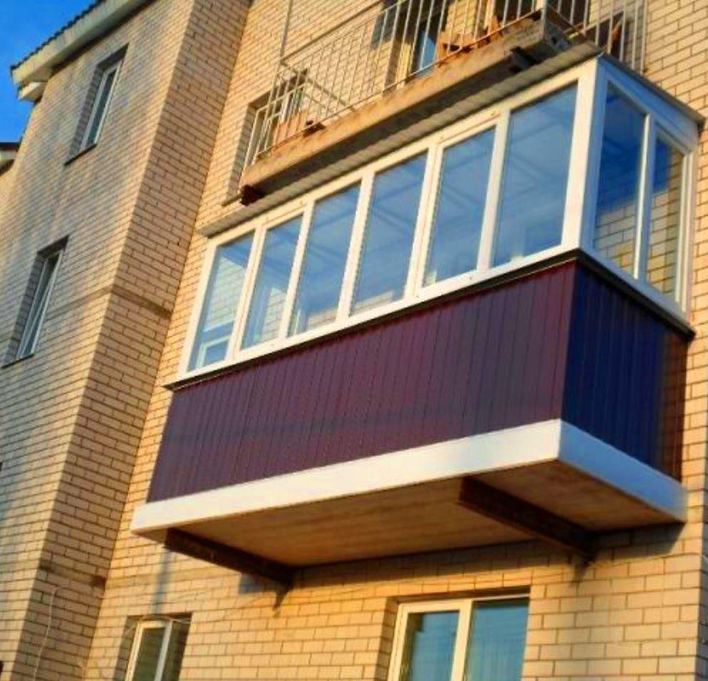 Балкон снаружи картинки