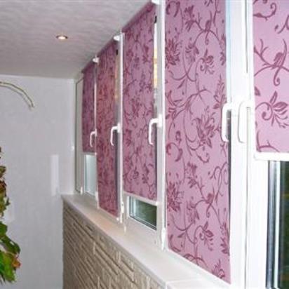шторы для лоджий и балконов фото