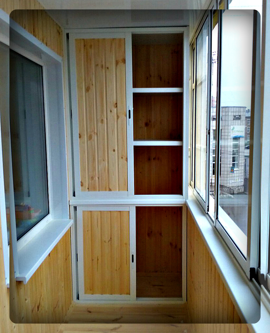 Фотогалерея раздвижного балкона.