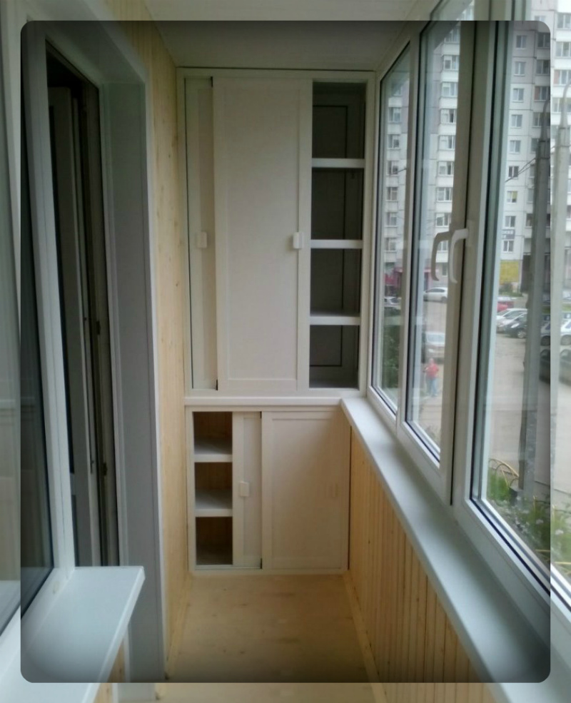 Отделка балконов внутри хрущевка фото самара.