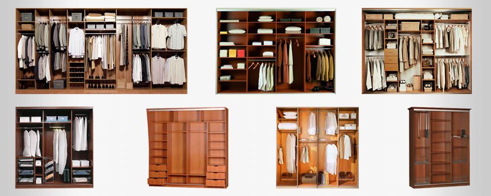 Фото схем встроенных шкафов